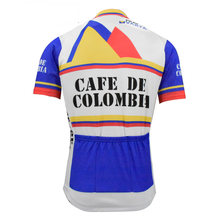 abefcfd94d2 Colombia men cycling jersey short sleeve summer cycling top de retro bike  wear bicycle clothing mtb jersey maillot ciclismo