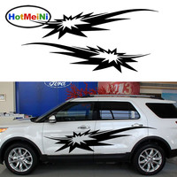 HotMeiNi 2 X Very Shocking Bomb Exploded In Smoke Filled Car Sticker Funny Art for Camper Van RV SUV Kayak Vinyl Decal 9 Colors