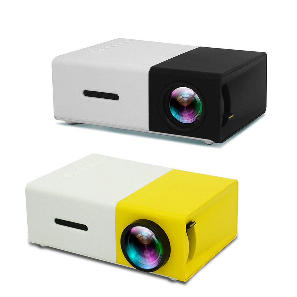 YG300 <font><b>LED</b></font> Projector 3D HD Portable Mini Pocket LCD Proyector for Home Cinema Theater 3.5mm Audio/HDMI/USB/SD Inputs Beamer New image