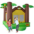 YARD Jungle Tree Inflatable Bounce House Mini Bouncy Castle Blower Include Special Offer for Asia