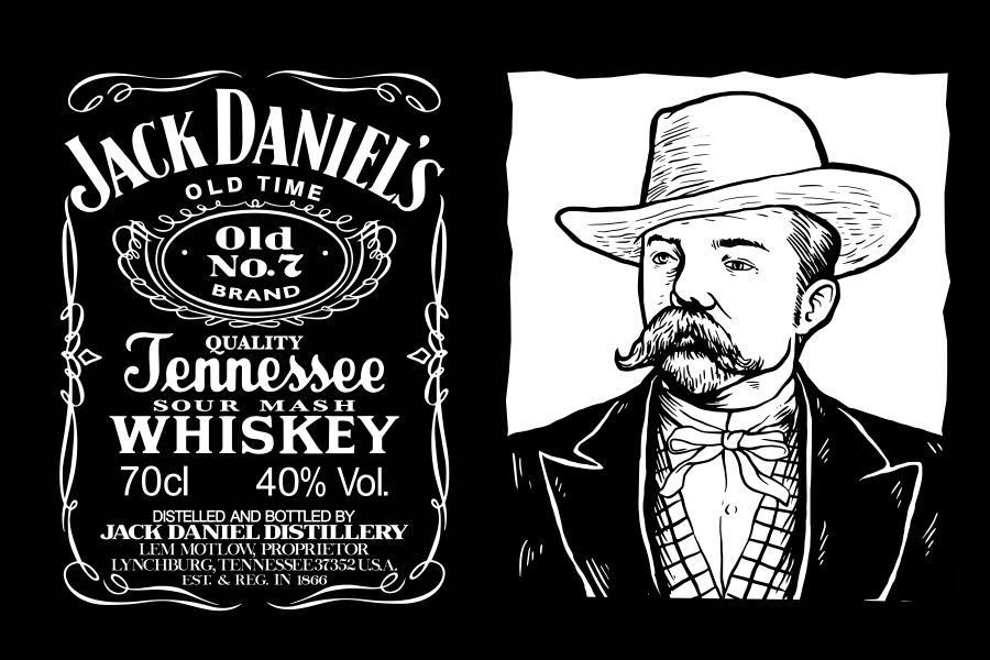 YOYOYU Wall Decals Jack Daniels JD Wall Art Sticker Jennesse Whiskey ...