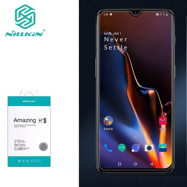 for Oneplus 7T/ 7/ 6T Tempered Glass for One plus 6T Glass Nillkin Amazing H+Pro 0.2MM Screen Protector For Oneplus 7 6T 7T