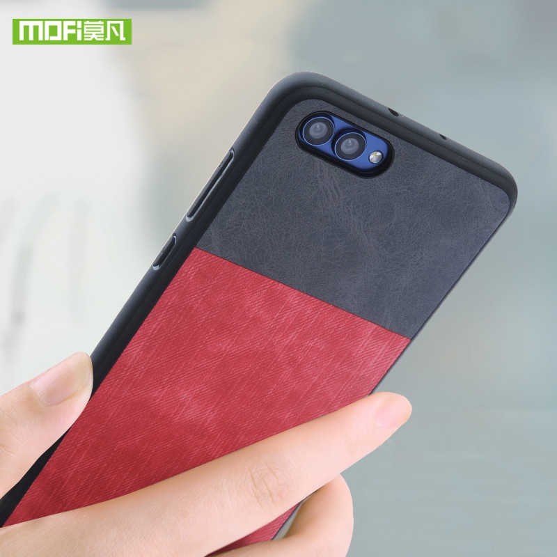 For Huawei Honor 10 case for Huawei Honor 10 case cover silicone original Mofi For Huawei Honor 10 case shockproof jeans leather