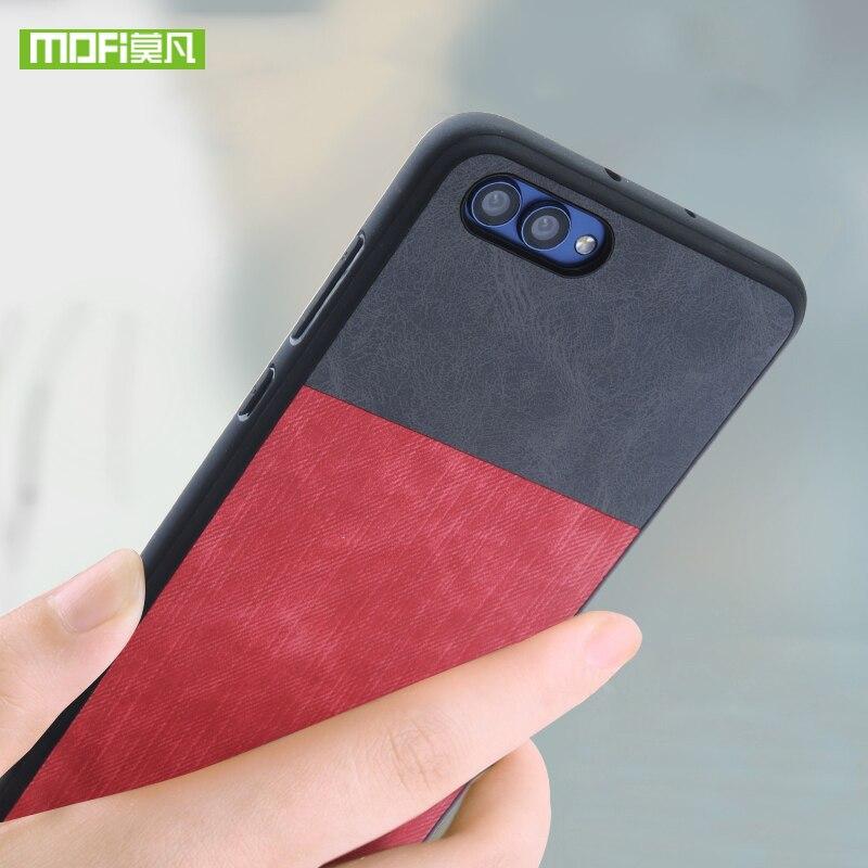 Pour Huawei Honor 10 cas pour Huawei Honor 10 housse en silicone d'origine Mofi Pour Huawei Honor 10 cas antichoc jeans en cuir