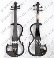 новый черный 4/4 электрические скрипки молчат замечательный тон любой цвет