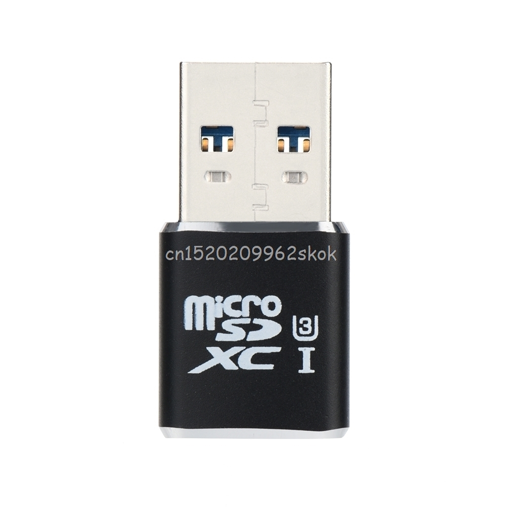 Support Up To 128GB TF Card USB 3.0 Micro SDXC Micro SD TF T-Flash Card Reader Adapter SDXC/SDHC/SD Card Reader Kit J26 19