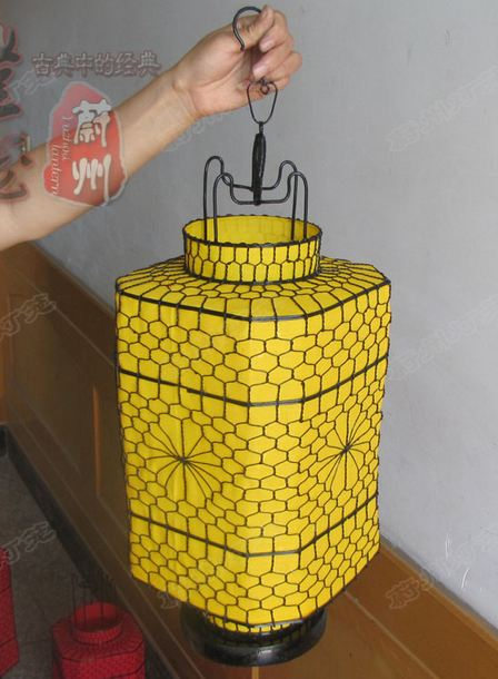Classical octagonal palace lantern,Square barrel lantern,Handmade wrought iron lantern