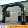 Free Express Arch main door design 5X4M Oxford nylon cloth inflatable balloon arch with velcro for BG-A0524-2 toy