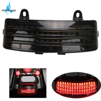 LED Rear Fender Stop Brake Running Tail Light Tip Lamp Red For Harley Street Glide FLHX Road Glide FLTR 2014 2017 C/5