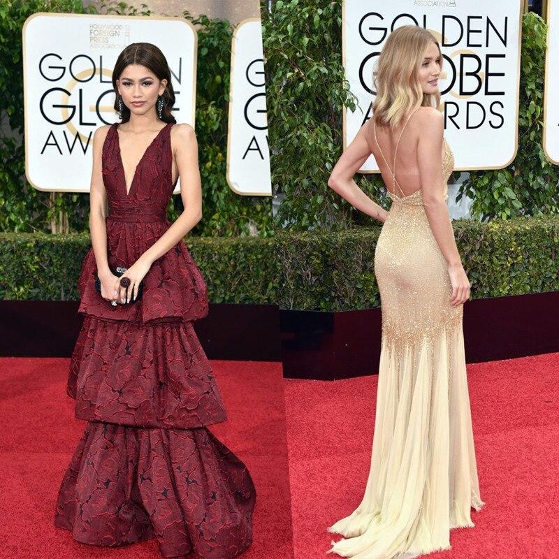 Popular Gold Red Carpet Dresses-Buy Cheap Gold Red Carpet Dresses ...