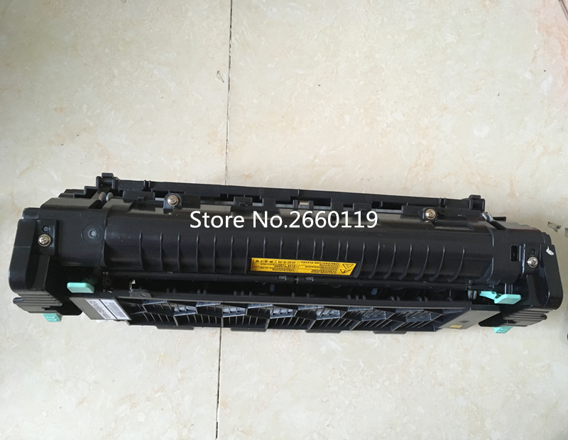 Printer heating components for Samsung CLP-610 660 610DN 6200FX 6240 6210 printer fuser assembly with fully tested original fuser drive gear for samsung clx 8380 6200 8540 clp 610 660 770 775 fuser swing gear remove from new machine