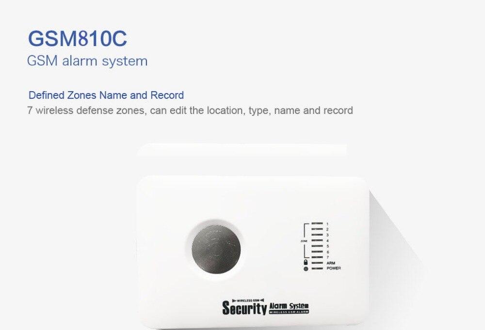 Smart GSM alarm system - realspygadgets.com
