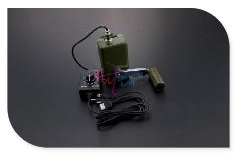 Портативный Генератор Рукоятка аккумуляторная аварийного питания с 0 ~ 28 В Регулятор Напряжения для ноутбуков/мобильных телефонов/камеры и т. д.
