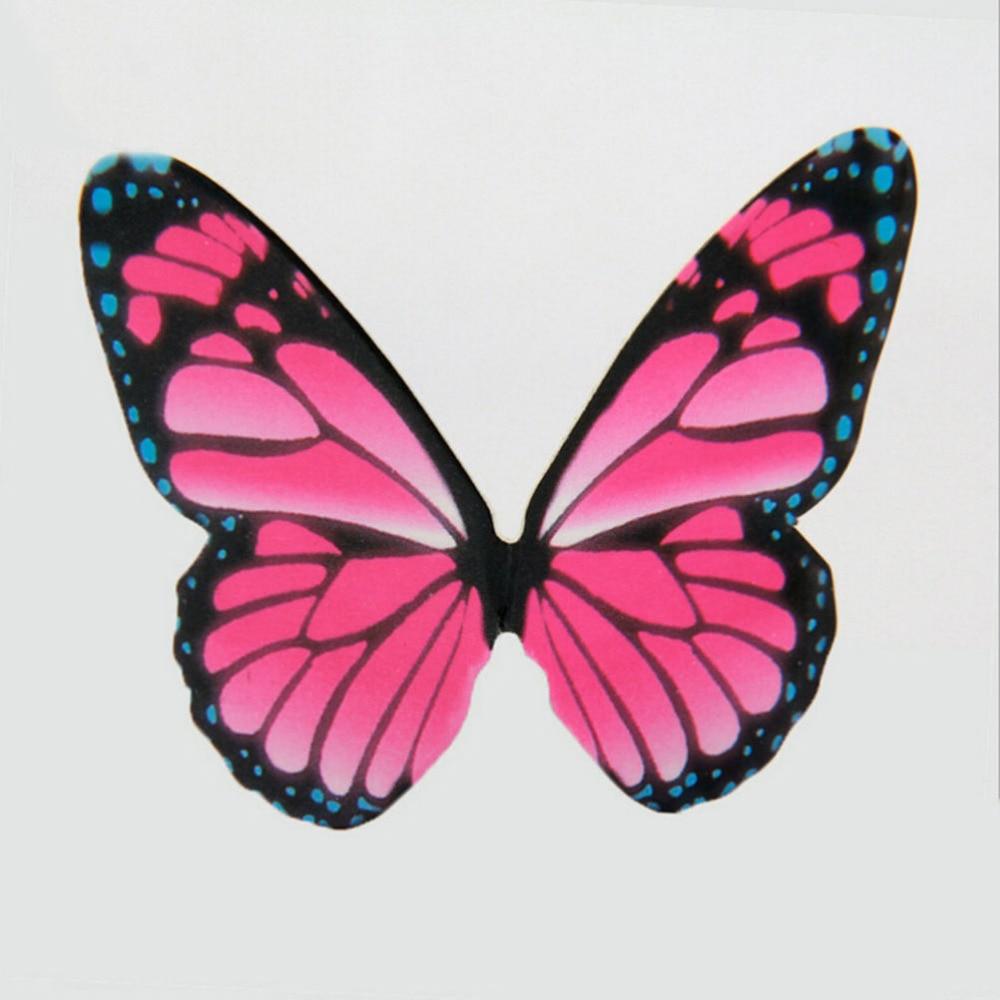 50 Pcs/set 6.5*5cm Paper Butterfly Wedding Cake Topper/Wedding Cake ...