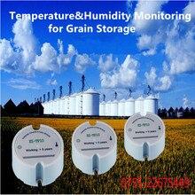 Wireless Temperature Grain Moisture Transmitter Sensor Grain Storage Silos Temperature Humidity Wireless Monitoing SXZ-TH10