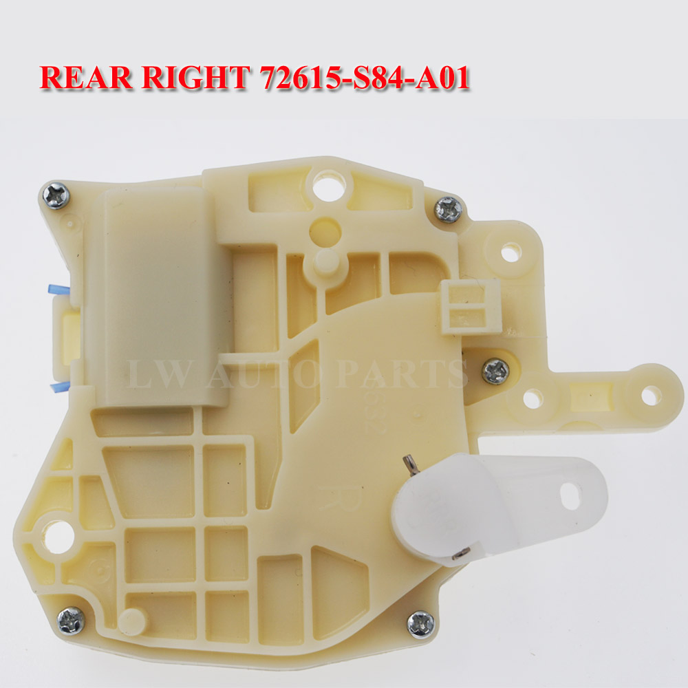 Rear Right Door Lock Actuator 72615-S84-A01 72615S84A01 For Honda Odyssey Civic