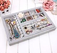 Free Shipping Receive Jewelry Jewelry Box Jewelry Display Shelf Ring Box Necklace Box Empty