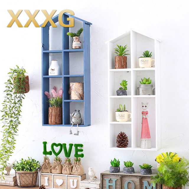 XXXG Mediterranean Style Wall Rack On The Decorations Of Children Room Girls Bedroom