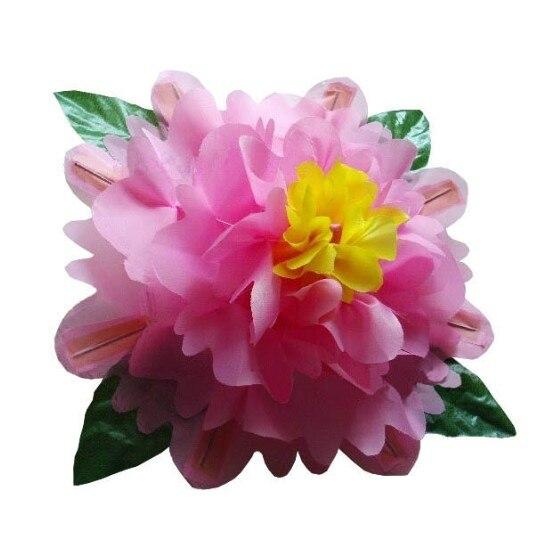 Main vide apparaissant fleur (80 cm) tours de Magie drôle scène Magie pivoine Production Magie Gimmick accessoires fête spectacles de Magie