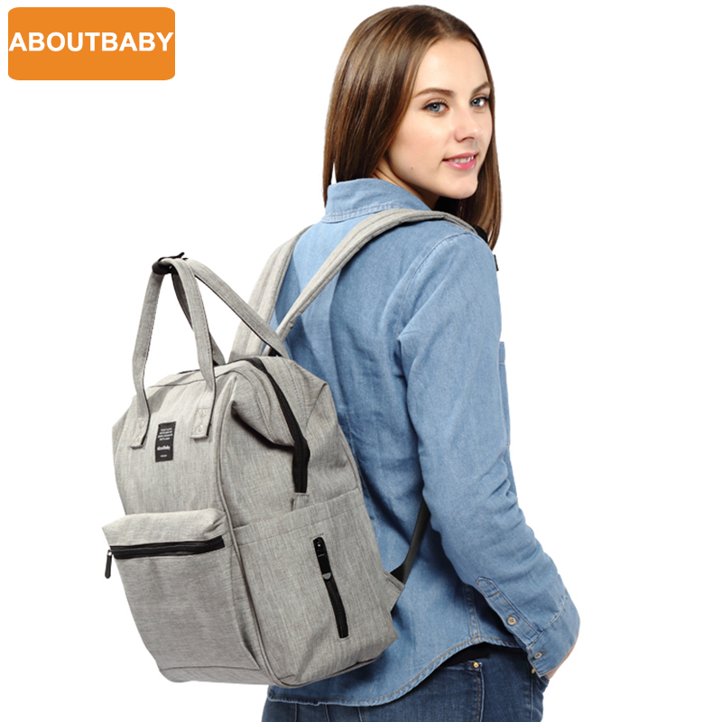 Brand Large travel nursing designer maternity mom changing mother mummy baby diaper bag backpack nappy bags