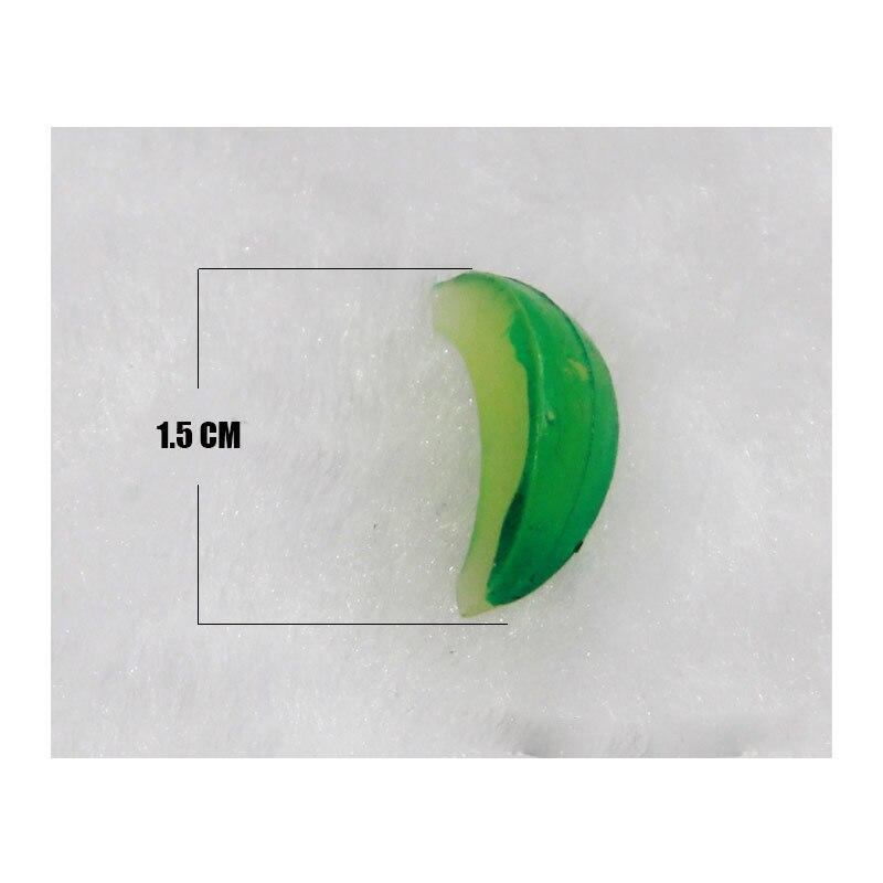 100 шт./лот DIY аксессуары для моделирования еды/фруктов Хами дыни ломтик ПВХ пластик ремесла украшения дома части подарки# DIY015