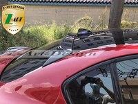 Ajuste para Alfa Romeo Juliet Giulia  Versión Modificada QV de fábrica de pradera de cuatro hojas  alerón de ala superior de fibra de carbono