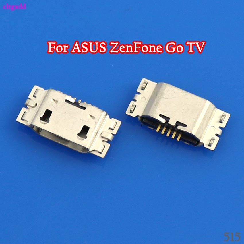 10PCS/Lot Micro <font><b>USB</b></font> Charge Port Dock Socket Jack Plug For ASUS <font><b>ZenFone</b></font> <font><b>Go</b></font> TV <font><b>ZB551KL</b></font> X013D ZB452KL X014D Charging Connector image