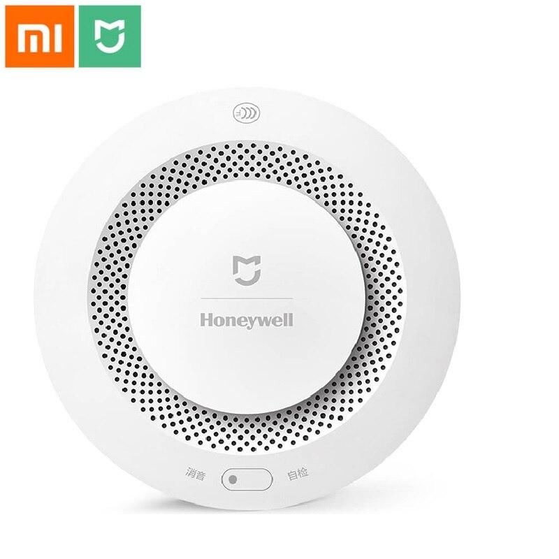 Xiaomi Mijia Honeywell alarme incendie détecteur de fumée détecteur de gaz travail avec passerelle multifonction 2 Smart Home sécurité APP contrôle