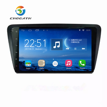 ChoGath 10.2 Inch Android 8.1 car GPS Navigation For Skoda OCTAVIA 2012-2015 with Touch Screen Bluetooth Radio TPMS canbus