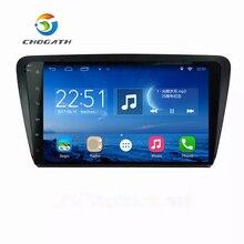 ChoGath 10.2 Pulgadas Android 6.1 GPS de Navegación Para 2012-2015 Skoda OCTAVIA con Pantalla Táctil Del Mercado de accesorios de Radio Bluetooth TPMS