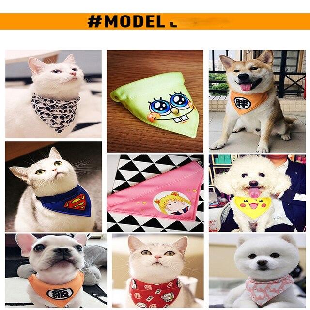 10 stili Regolabile Collare di Cane del Cucciolo del Gatto Sciarpa Collare per C