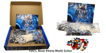 New Gundam Action Figure Model Diamond Building Blocks LOZ 17cm  6 pcs/set