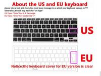 """keyboard plastic case Plastic Hard Case Cover Laptop Shell+Keyboard Cover+Screen Film+Dust Plug For Macbook Air 11 13 Pro Retina 12 Touch Bar 13 15"""" (2)"""
