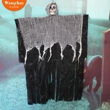100cm Skull Halloween Hanging Ghost Haunted House Grim Reaper Horror Props Home Door Bar Club Decorations