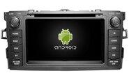 Navirider car dvd player multimedia autoradio android 8.1 wifi screen gps navigation for Toyota Auris 2007 stereo tape recorder