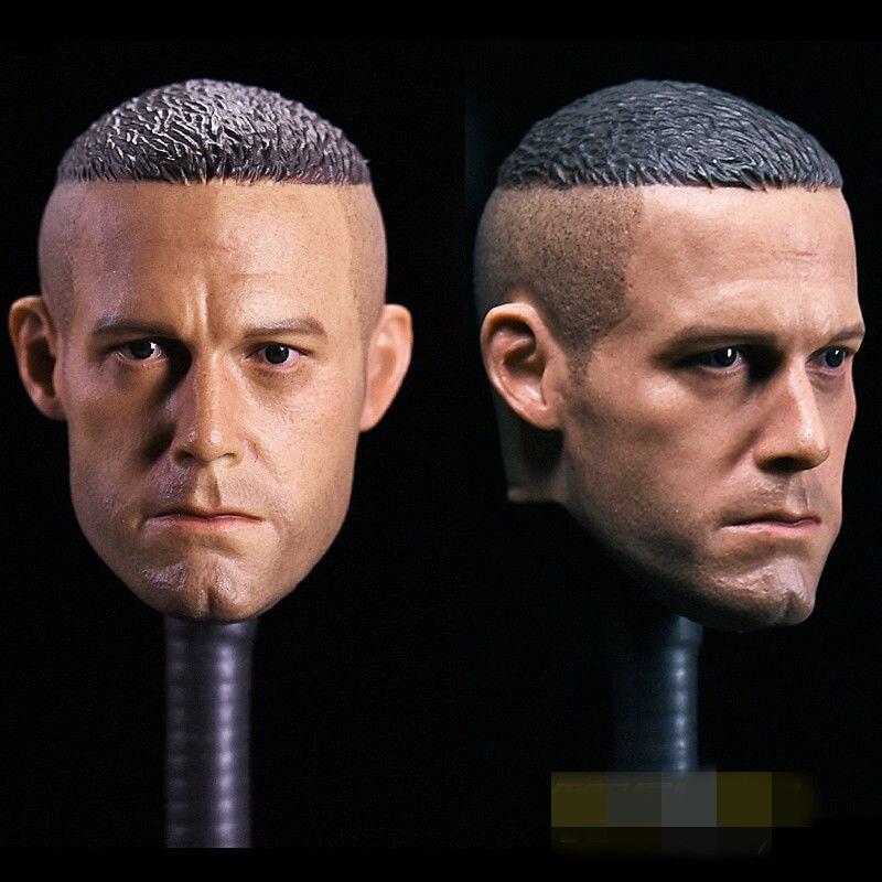 1/6 Scale Ben Affleck Head Sculpt Batman Head Carving For 12'' Action Figures Male Bodies Dolls