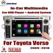 Автомобильный dvd-плеер для Toyota Verso/SportsVan 2009~ gps навигация Android 8 Core A53 процессор Радио BT SD USB AUX wifi