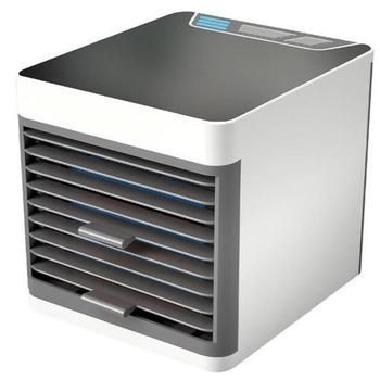 Mini ventilador de aire acondicionado, ventilador enfriador, humidificador de aire, purificador de aire acondicionado para el hogar y la Oficina, dispositivo vaporizador saludable