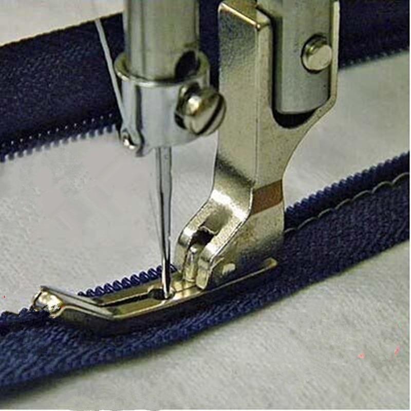 Прижимная лапка для промышленной швейной машины, лапка для плоскостопия 0,3, лапка на молнии # P363, зубочистка, тонкая стальная прижимная лапка, AA7182-2