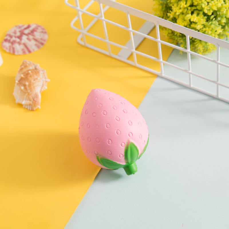 Squishy Toy Kawaii Strawberry Antistress Toy Soft Slow Rising Jumbo Squeeze Toys For Kid ...