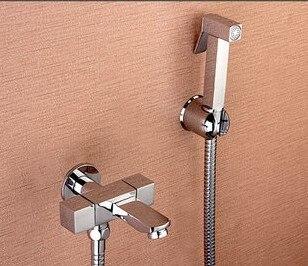 bathroom bidet faucet set toilet button spray gun sprinkler head outdoor shower women wash tap