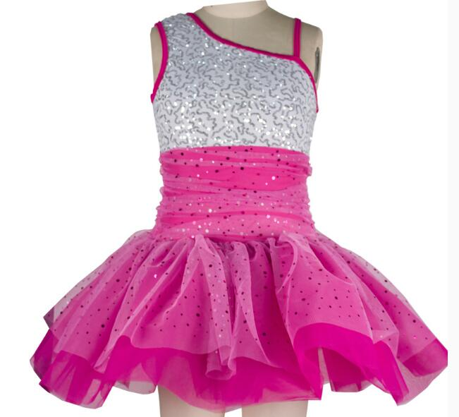 Aliexpress.com : Buy pink sequin adult kids Ballet Dance ...