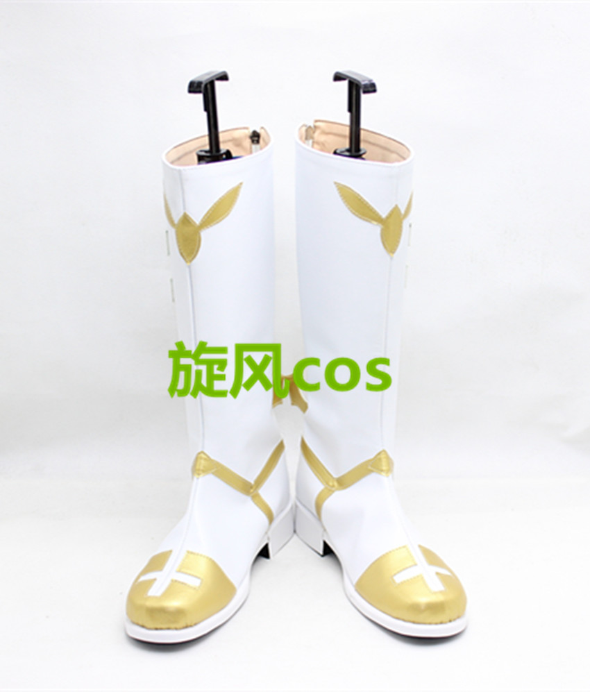Fate Apocrypha Rider of Black Faction Astolfo Twelve Paladins of Charlemagne Cosplay Boots Shoes S008