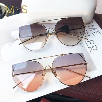 Women Luxury Oversize Sunglasses 1