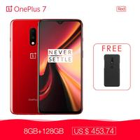 Oneplus 7 8GB RAM 256GB ROM Smartphone Snapdragon 855 6.41 48MP Mobile Phone Dolby Atmos Screen Unlock