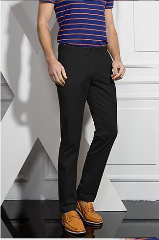 2016 летняя мода Корейский стиль Молнии легкий Тонкий эластичный шнурок Досуг полная длина прямые узкие брюки Y39