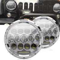 7 Inch Round Headlights Led Working Lights With High Low Beam DRL W H4 To H13