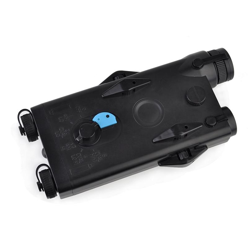 Caixa de Caixa de Bateria Airsoft Tactical AN PEQ-2 SEIGNEER Laser Vermelho Ver Para 20 milímetros Trilhos Sem Função L100mm * W65mm * Caixa PEQ H20mm EX426