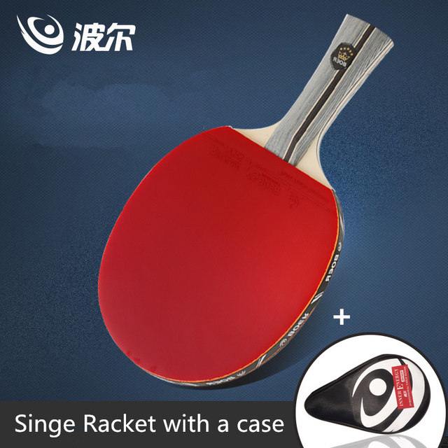 Boer 1 star 7 layers poplar wood Table tennis racket Ddouble Pimples ...
