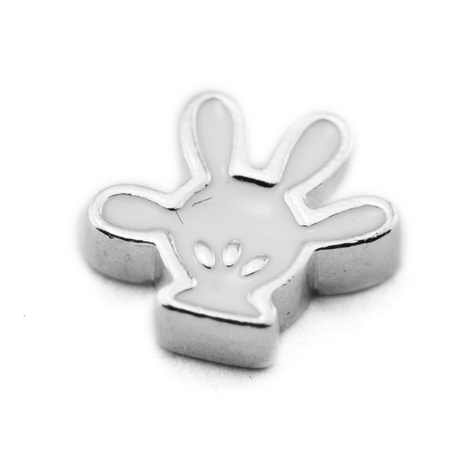 Beads FOR Jewelry Making DIY Sterling-Silver-Jewelry Mickey Glove Petite Charm B